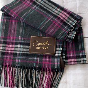 COACH EST 1941 Wool Scarf